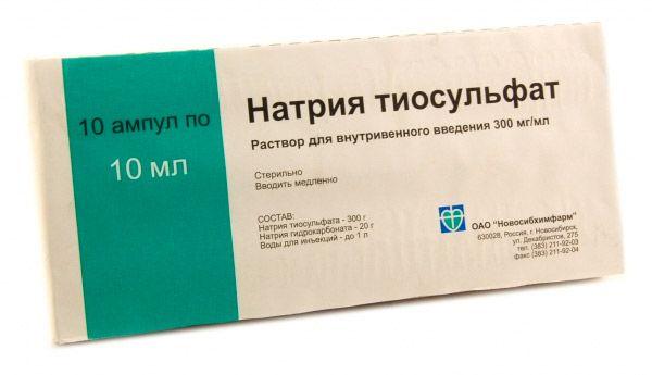 Nátrium-tioszulfát-alkohol kezelés