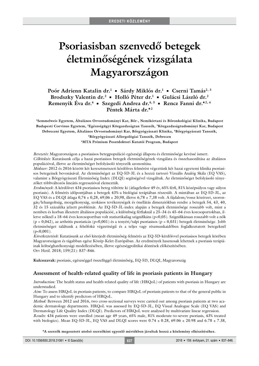 nemzetközi pikkelysömör kezelési protokoll