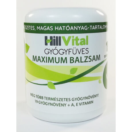 HillVital - Maximum Balzsam - Babi néni gyógyfüvei