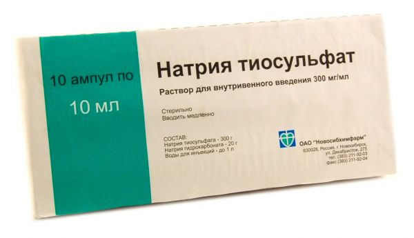 A nátrium-tioszulfát psoriasis