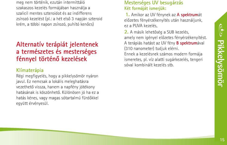immunitás kezelése pikkelysömörben)